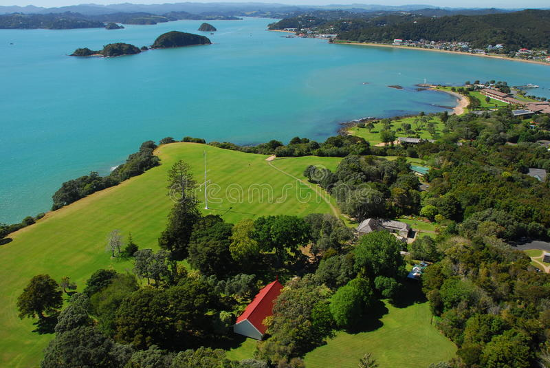Waitangi Treaty Grounds royalty free stock photo