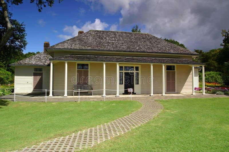 Waitangi Treaty House royalty free stock photography