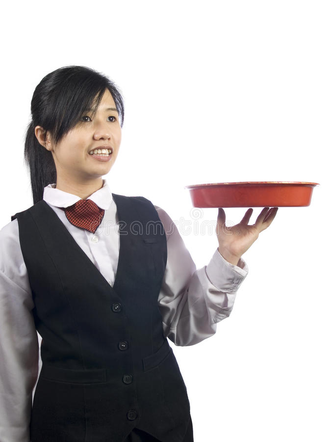 Waiter-1 imagens de stock