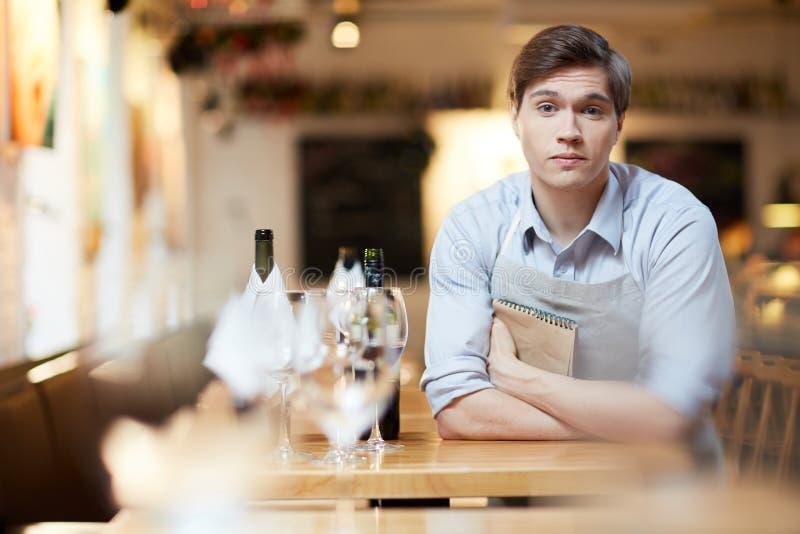waiter imagem de stock royalty free