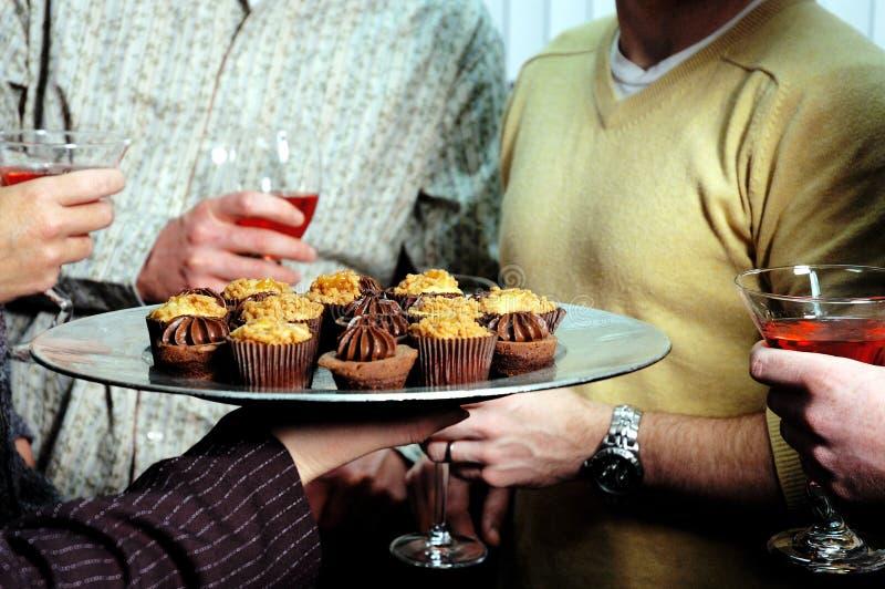 Download Waiter 2 stock photo. Image of dessert, tray, food, martini - 57444