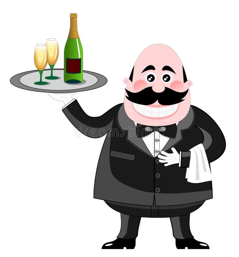Download Waiter Stock Photo - Image: 25258530