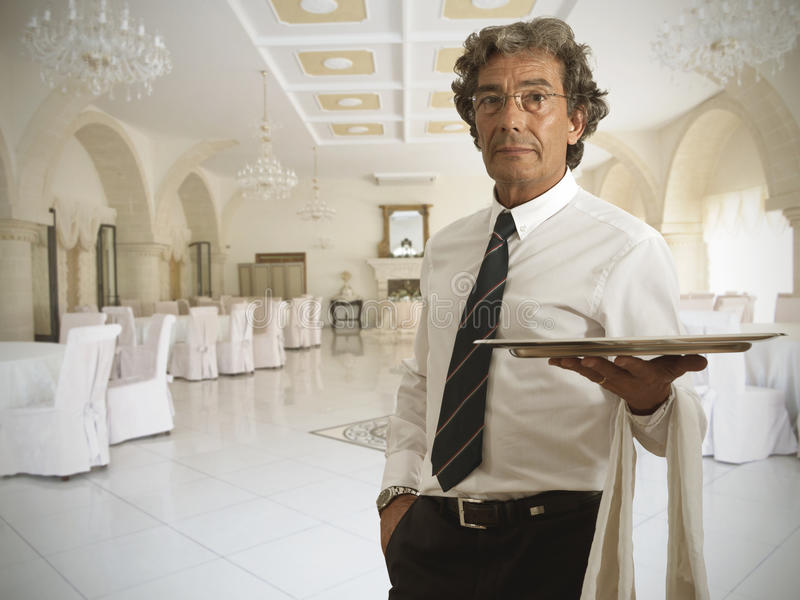 Download Waiter stock photo. Image of staff, restaurant, hotel - 27660836