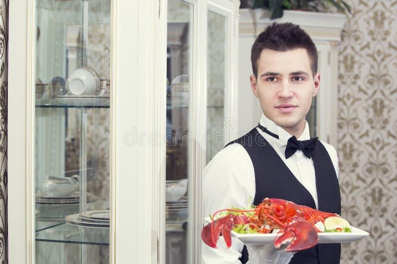 waiter foto de stock