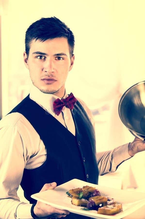 waiter imagem de stock
