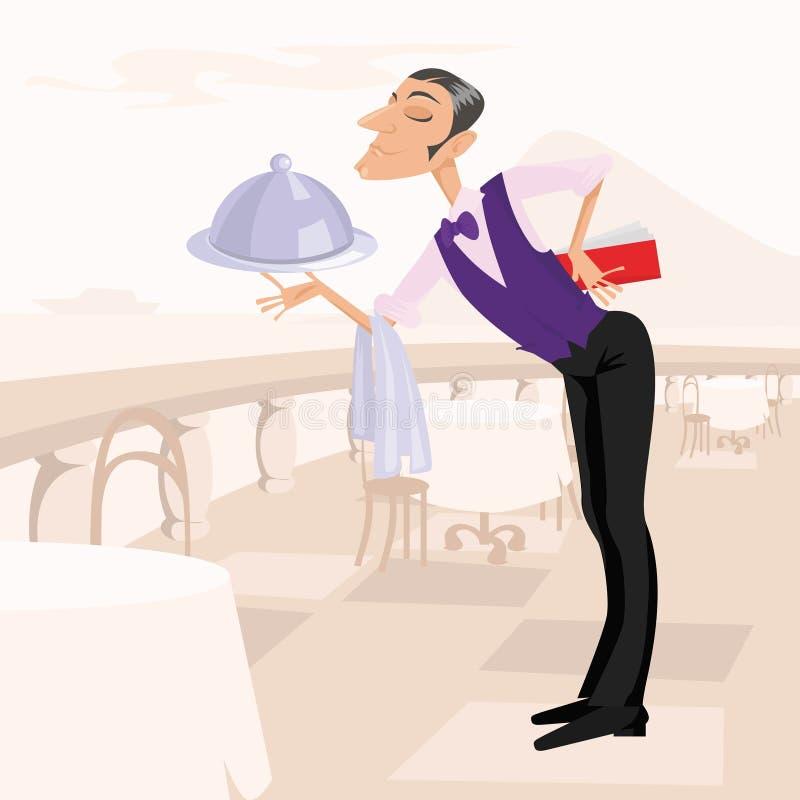 The Waiter Stock Image