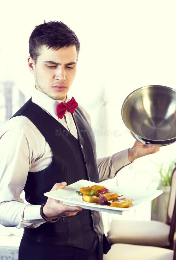 waiter fotografia de stock