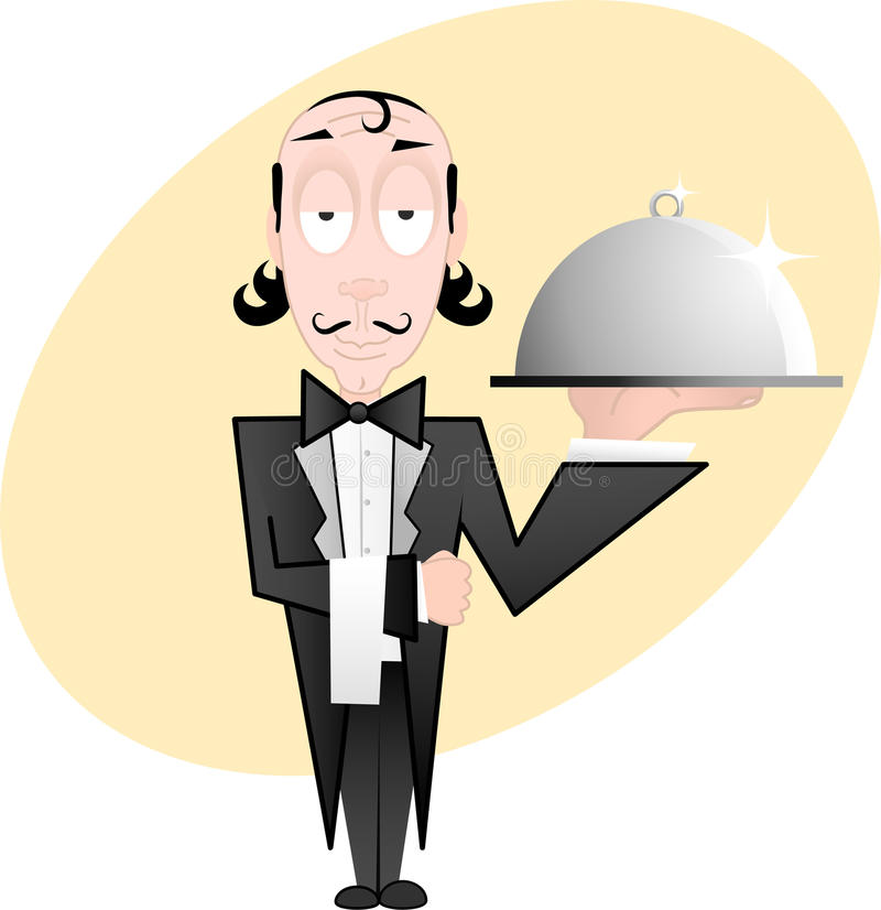Download Waiter Royalty Free Stock Photography - Image: 9378617