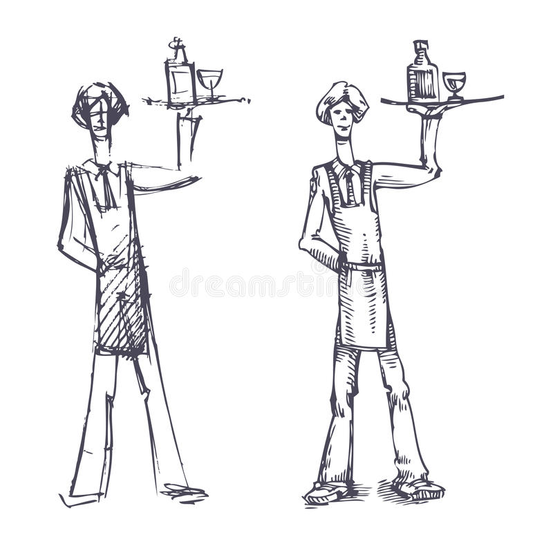 Download Waiter Stock Images - Image: 33026654