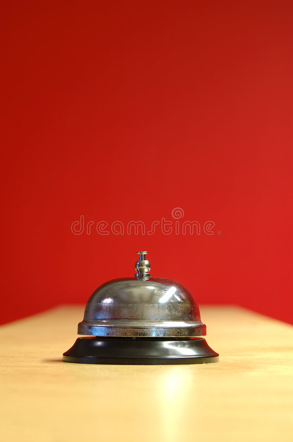 Waiter bell royalty free stock images