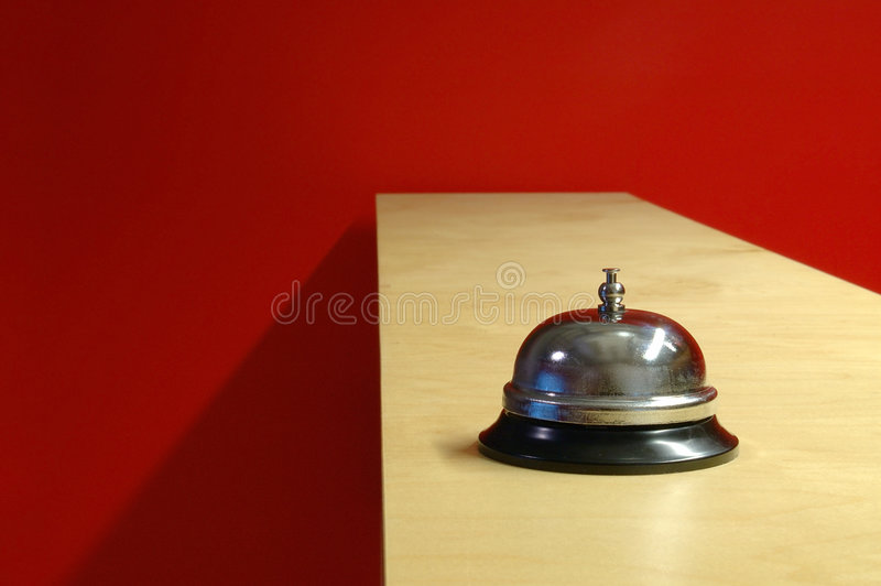 Download Waiter bell (horizontal) stock image. Image of lonely, wait - 56021