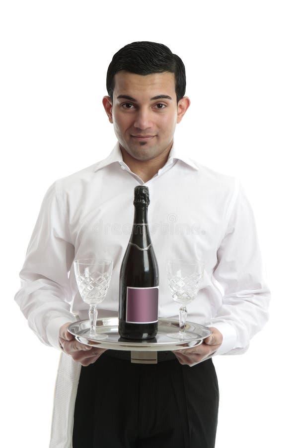 Free Waiter Servant Or Bartender Stock Image - 15434741