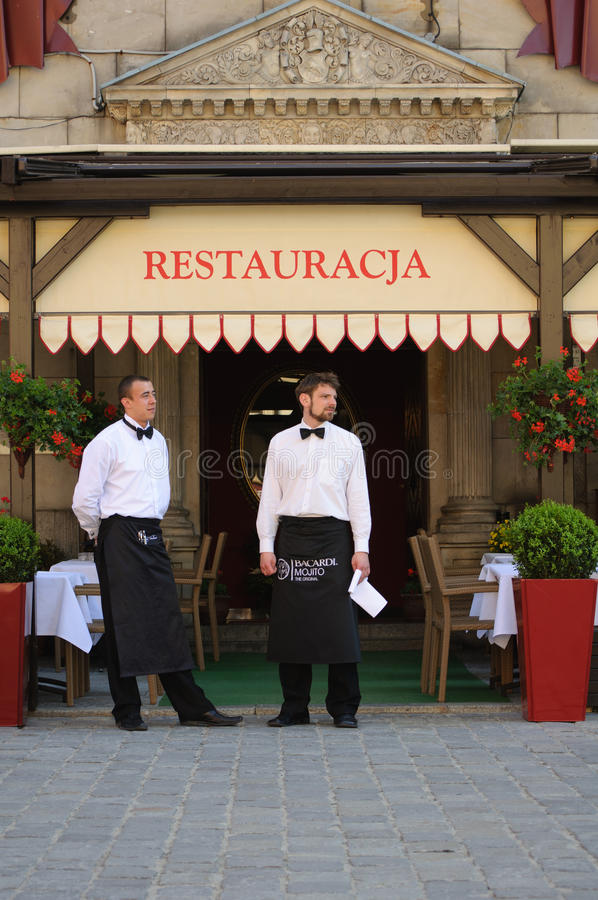 Download Waiters editorial stock photo. Image of cuisine, waiting - 19715158