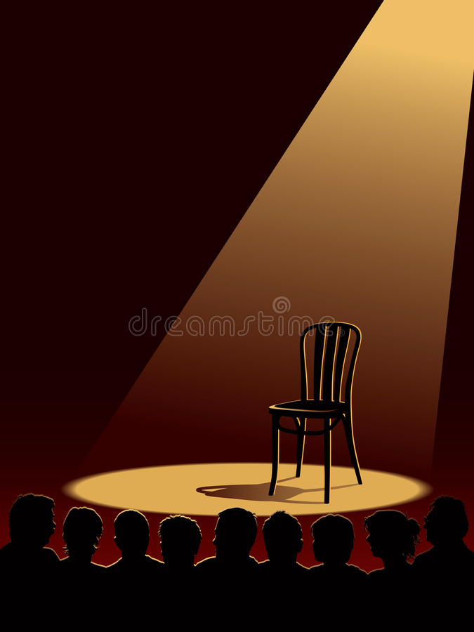 Download Waiting stock vector. Image of scene, illustration, chair - 14371024