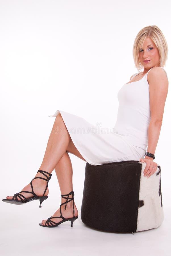 Download Waiting stock image. Image of girl, woman, seat, eyes - 21362685