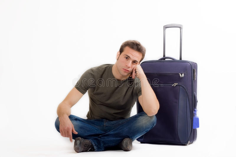 Download Waiting stock photo. Image of blue, expectation, person - 22213304