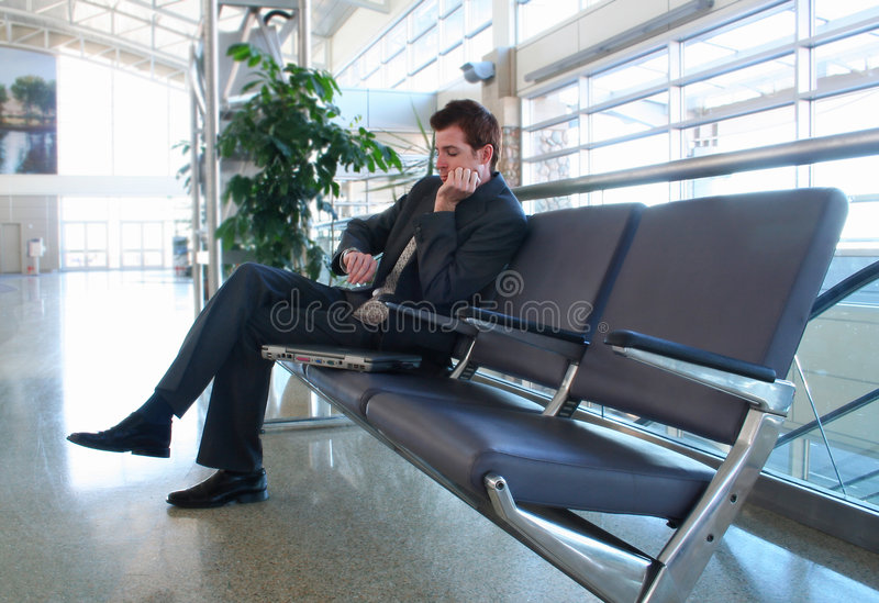 Download Waiting stock image. Image of handsome, attire, professional - 3402655