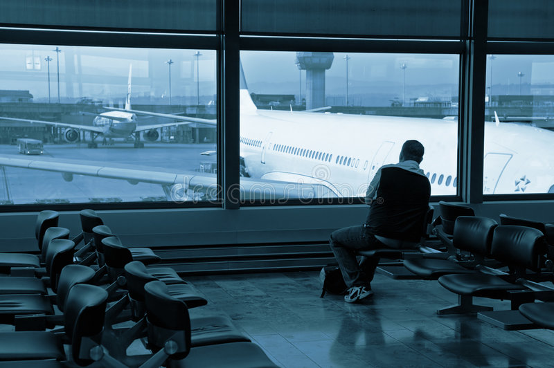 Download Waiting stock photo. Image of aeroplane, technology, departure - 5681166