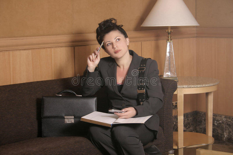 Download Waiting stock photo. Image of businesswoman, working, travel - 63886
