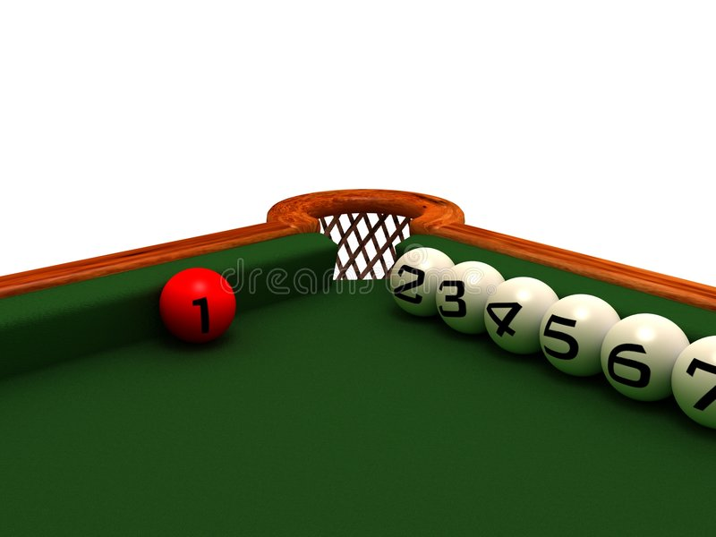 Waiting for... Abstract billiard game. Metaphor... Concept royalty free stock photography