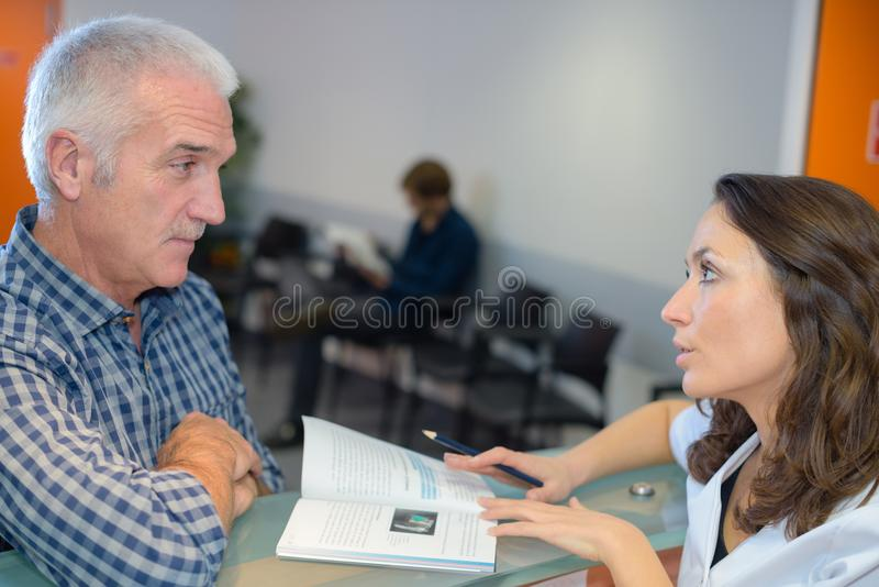 In the waiting area. Wait stock photos