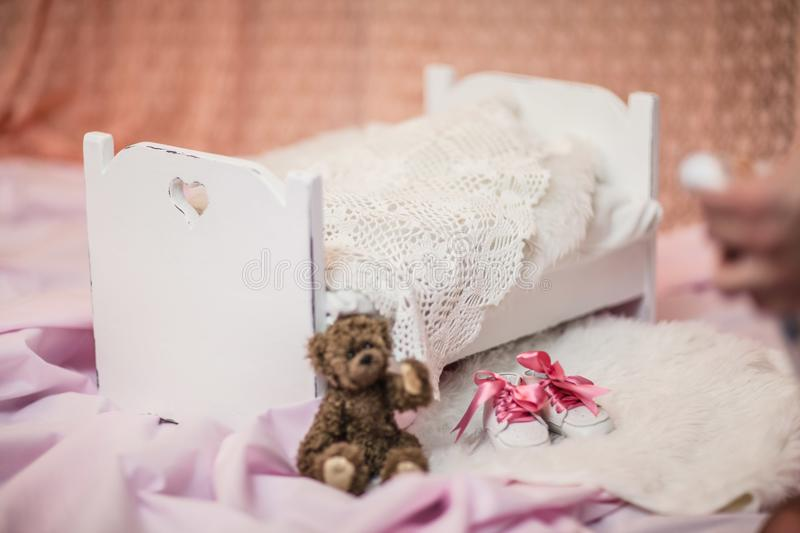 Waiting for the baby. royalty free stock images