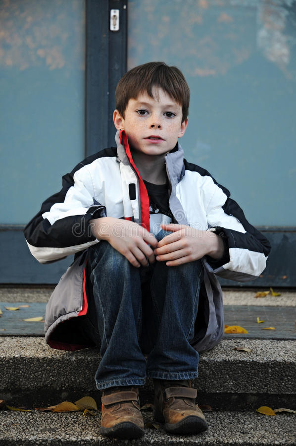 Free Waiting Boy Stock Photos - 27734183