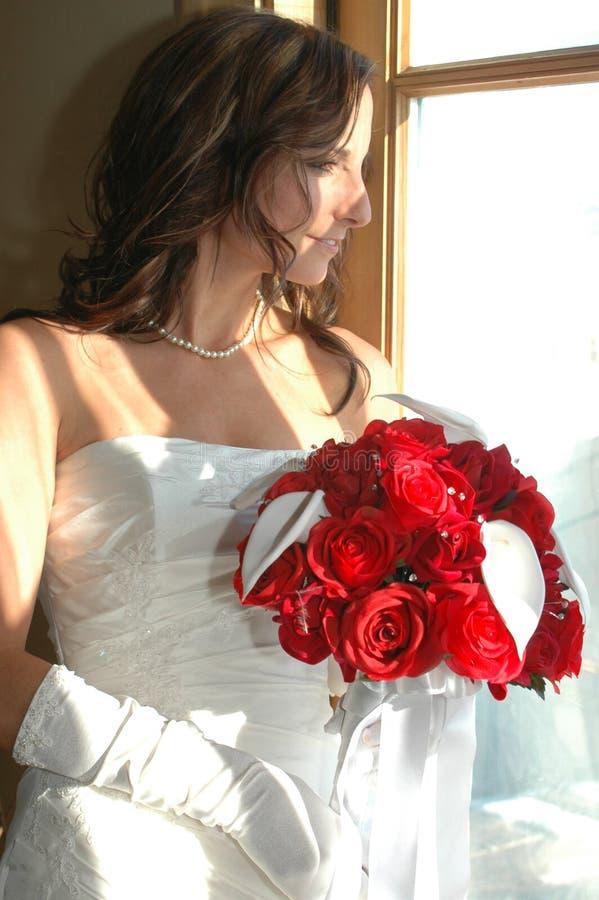 Waiting Bride stock photography