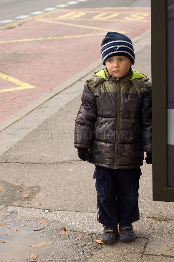 Download Waiting For Bus Stock Photo - Image: 11392010