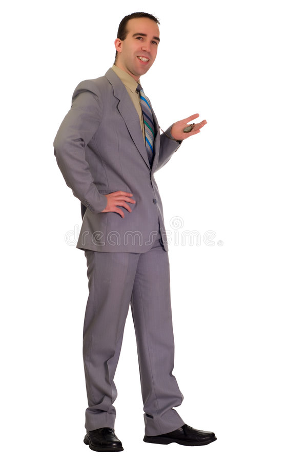 Download Waiting Businessman Stock Image - Image: 7377321