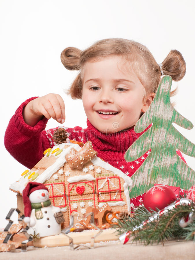 Download Waiting for Christmas stock image. Image of making, childhood - 15909085
