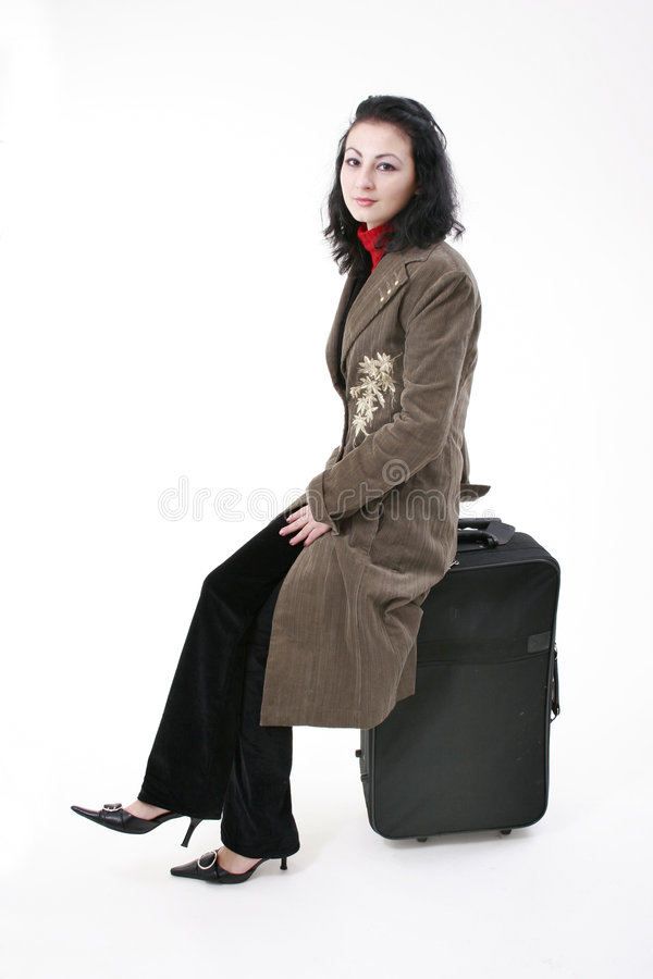 Waiting for departure royalty free stock photography