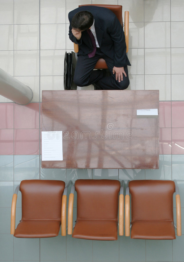 Download Waiting for interview stock image. Image of hire, interview - 154069