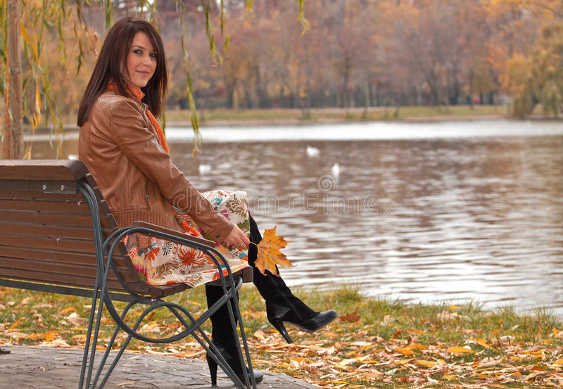 Download Waiting by the lake stock image. Image of focus, cold - 22008145