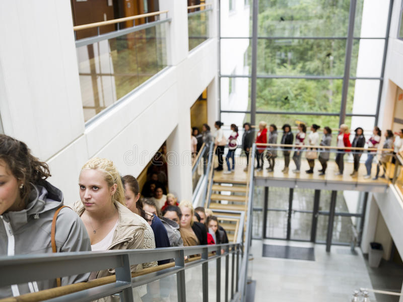 Download Waiting in Line stock image. Image of looking, architecture - 21332931