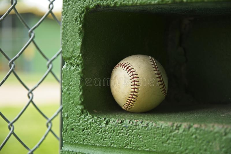 Waiting for Little League Season royalty free stock images