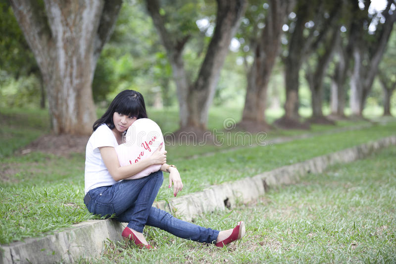 Download Waiting for love stock photo. Image of model, people - 22901926