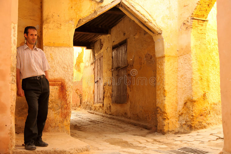 Waiting In The Medina Editorial Image