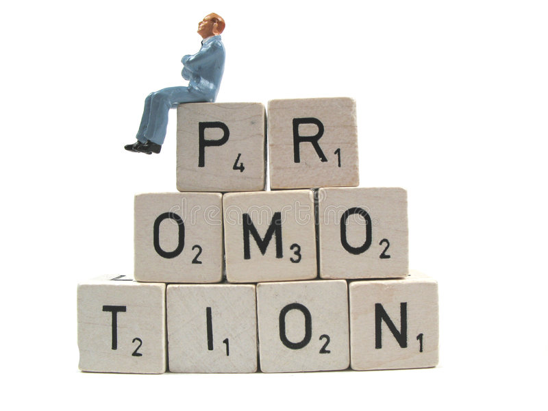 Waiting For Promotion Royalty Free Stock Images