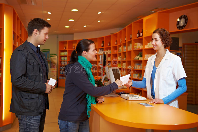 Download Waiting queue in pharmacy stock photo. Image of drug - 21668492