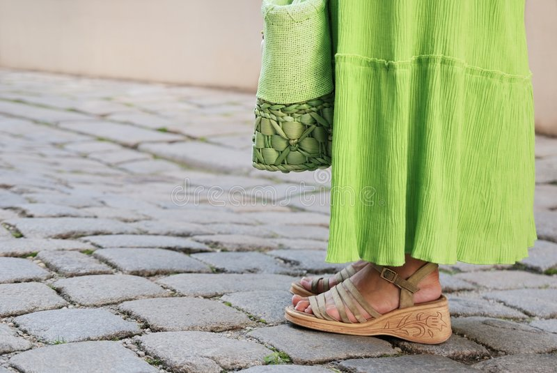 Download Waiting on road stock photo. Image of model, lonely, shoes - 8173522