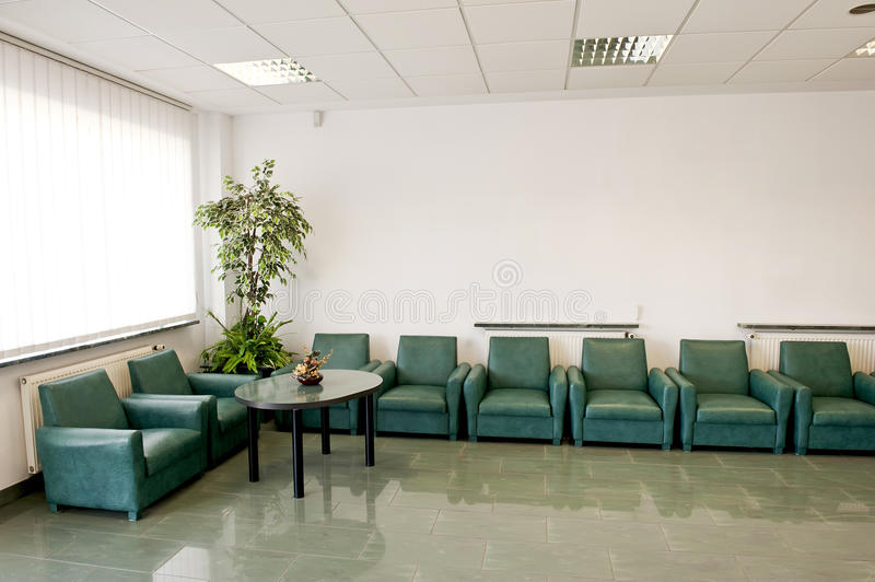Download Waiting room stock image. Image of green, comfy, comfortable - 21761377
