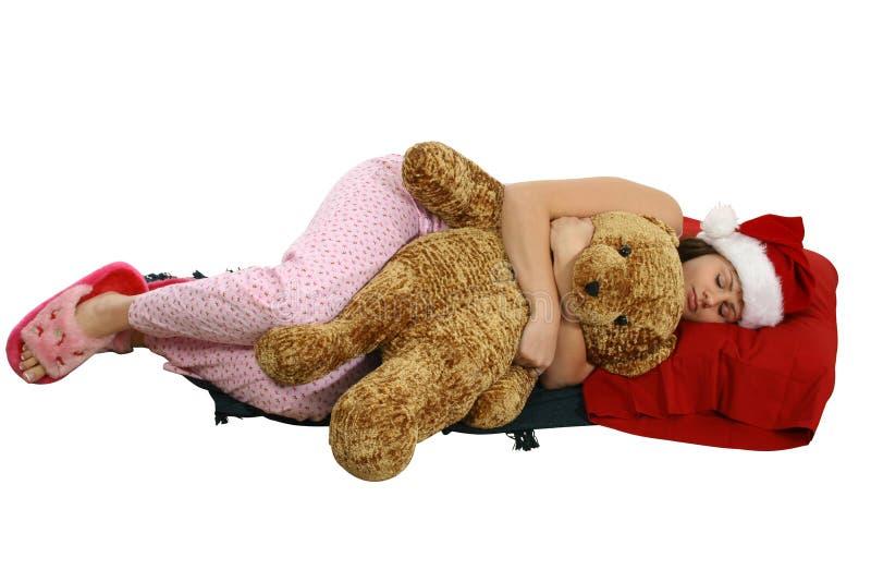 Download Waiting for Santa stock image. Image of slipper, pajamas - 3318583