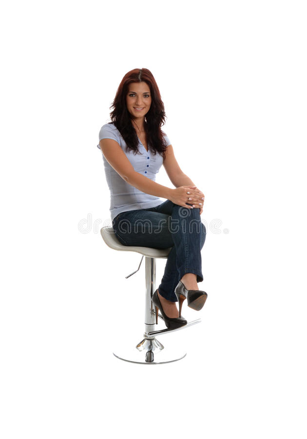 Download Waiting with a smile stock image. Image of interview - 25975227