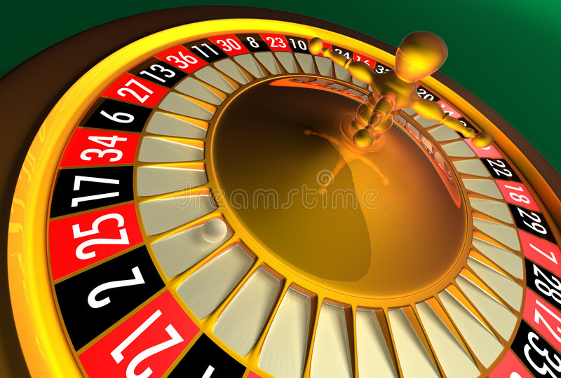 Waiting for spin royalty free stock images