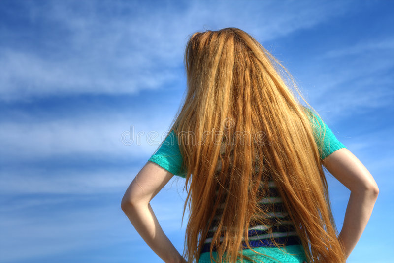 Download Waiting on a sunny day stock image. Image of gaze, color - 4574493