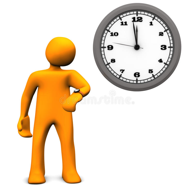 Waiting Time Stock Photography