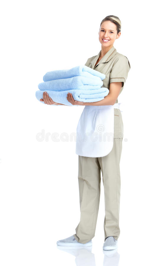Download Waitress stock image. Image of apron, occupation, background - 18551255
