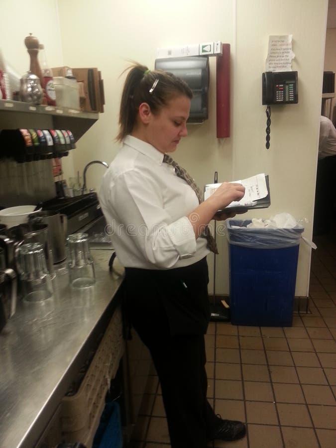 waitress fotos de stock royalty free