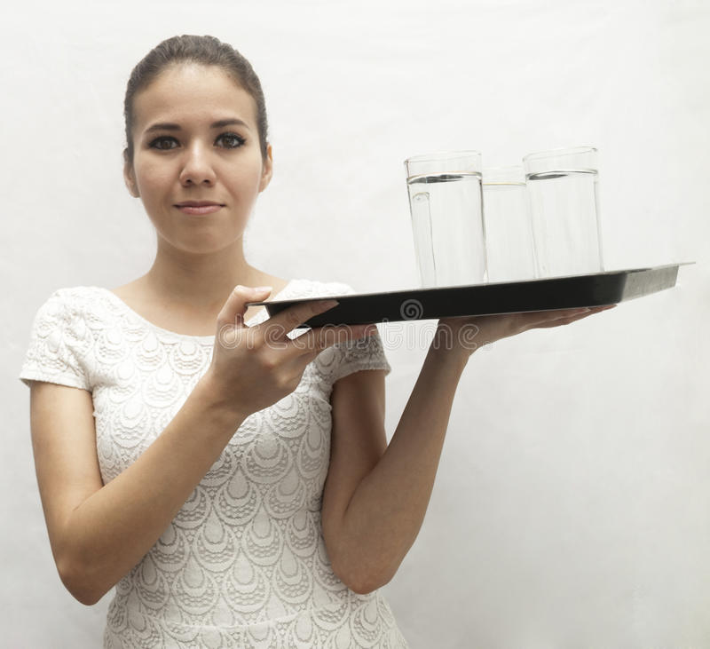 waitress foto de stock